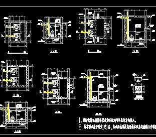 集水坑及潜污泵安装详图-1